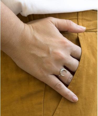 anillo luna rodio circonitas