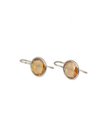 Tangled heart earrings (BH162)