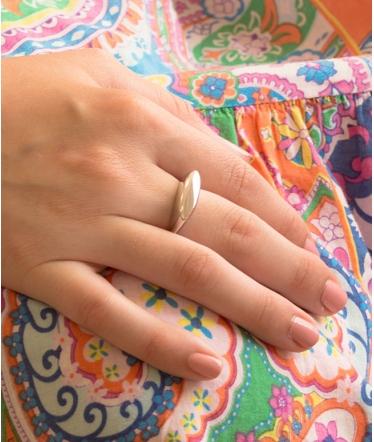 anillo plano