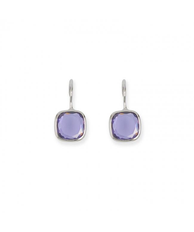 Zircons earrings (BH137)