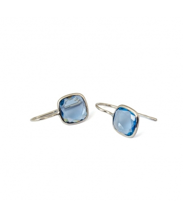 Zircons earrings (BH138)
