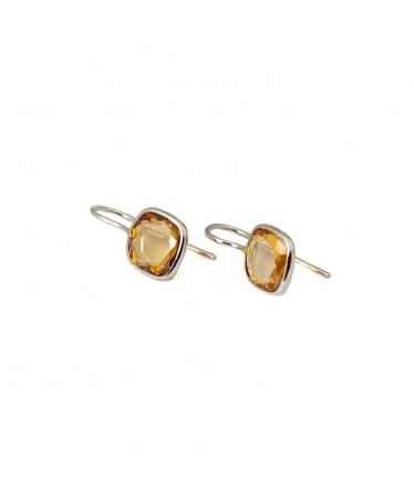 Zircons earrings (BH139)