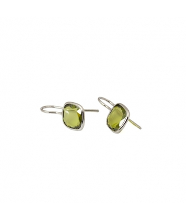 Zircons earrings (BH140)