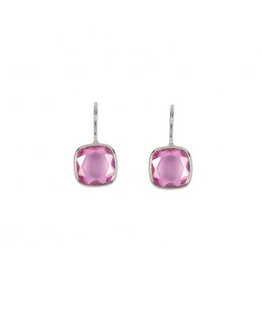 pendientes rosa