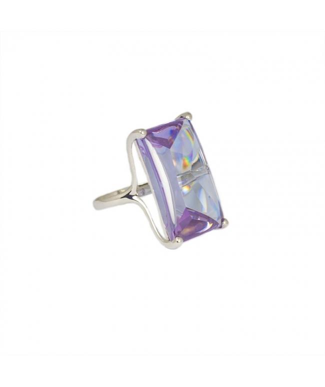 anillo lila