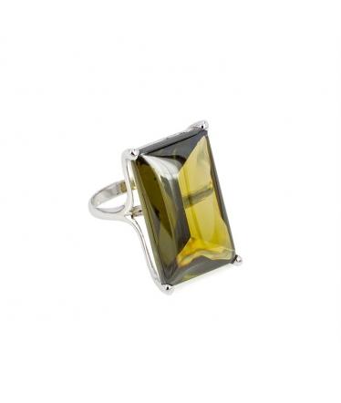 Zircons earrings (BH145)