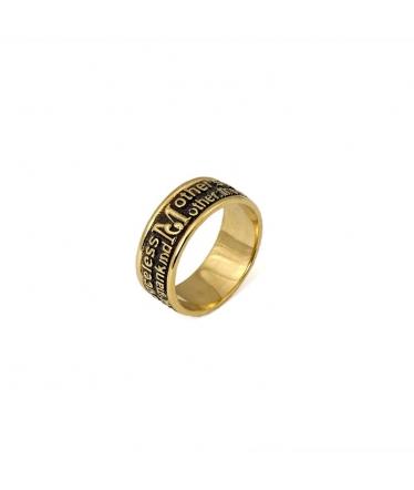anillo negro