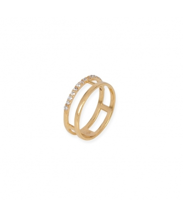 anillo circonita
