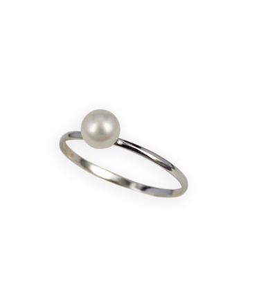 Pendientes oro 9 kts. perlas colgantes (BH204)