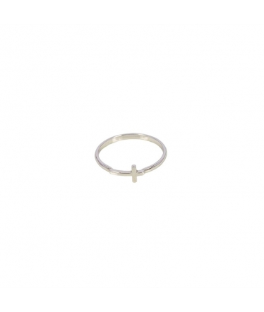 Open silver ring (BH188)
