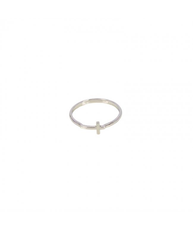 anillo mini de plata