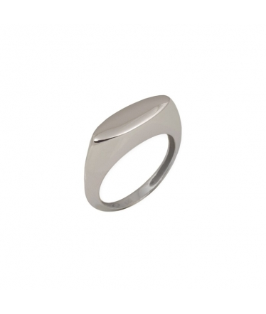 Cross silver ring with zircons (BH210)