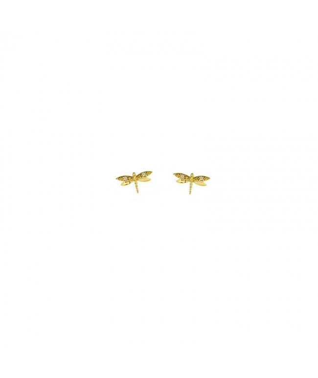 pendientes de libélula
