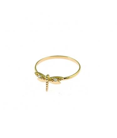 anillo libélula