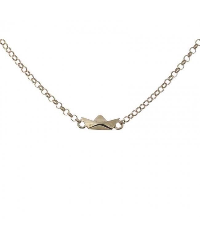 Pendientes plata cruz con cadena (BH337)