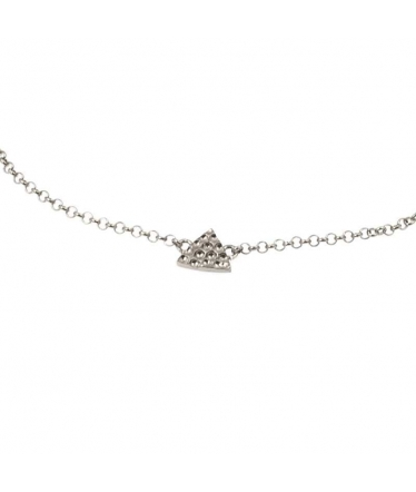 Sterling silver mermaid tail anklet (BH447)