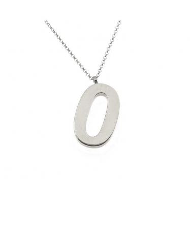 Gargantilla plata tres cadenas con circonitas (BH502)