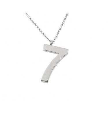 colgante número siete