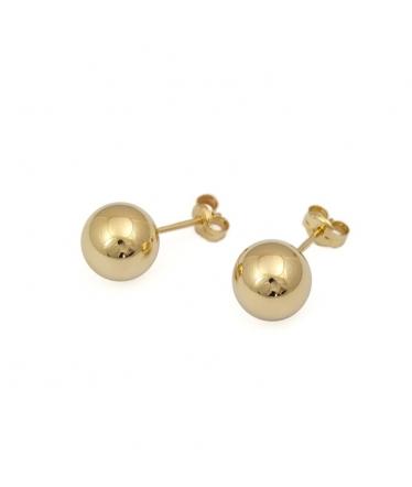 bolas de oro.