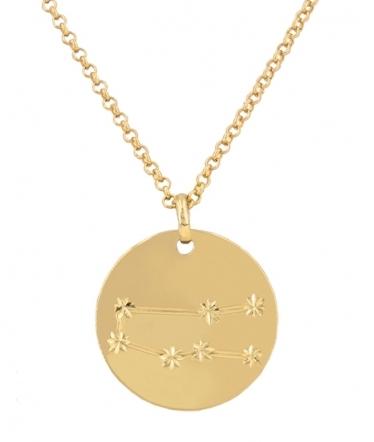 Collar géminis oro
