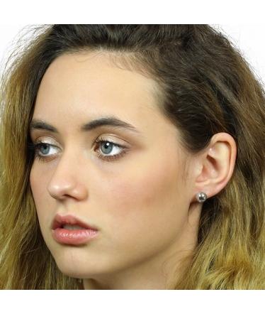 Earrings jacket zirconias (BH148)