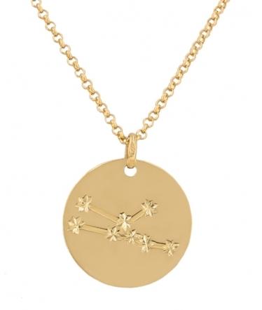 Collar signo Tauro en oro