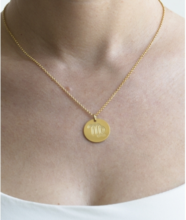 collar virgo oro